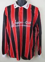 90s Vtg JAKO Football Shirt Retro Soccer Jersey Red Skjorte Trikot 5 a Side XXL