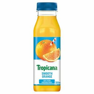 Tropicana Smooth Orange Juice 300ml x 8 Cafe Takeaway Catering