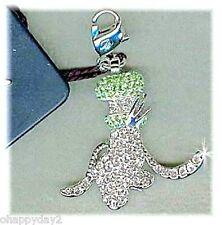signed Swarovski~ Disney~ jeweled GOOFY CHARM ~pave crystal~ NIB~ $63 ~ retired