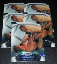 Rory MacDonald UFC 2012 Topps Finest Refractor Card #39 115 129 133 145 167 Fox