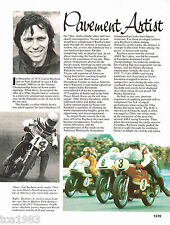 Old CALVIN RAYBORN MOTORCYCLE Racing Article / Photo's / Picture