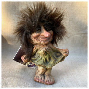 Ny Form NyForm Troll Figurine Dancing Girl Handmade Norway #030 with Booklet