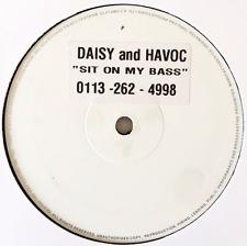 """Daisy & Havoc-sedersi sulle mie BASS (12"""") (PROMO) (In buonissima condizione/NM)"""