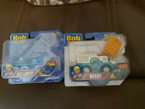 2x Bob The Builder Die Cast Vehicles  Betsy And Ice Lofty