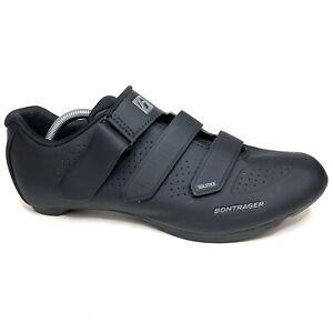 READ Bontrager Solstice Black Adjustable Two Bolt Cycling Shoes Men's 45 / 12