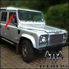 Deflettori Aria Antiturbo Oscurati Land Rover Defender 90 110 127 130 1990-2007