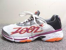 ZOOT Z Bound Energy 2.0 Running Shoes Women's Size 10 White,Orange,Purple,Black