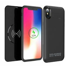 5000mah iPhone X Magnetic Battery Case Qi Wireless Charging Charger Power Bank