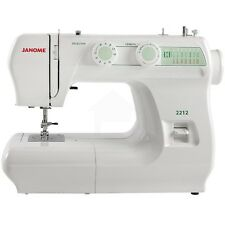 Janome 2212 12-Stitch Full Size Freearm Sewing Machine With Bonus Package