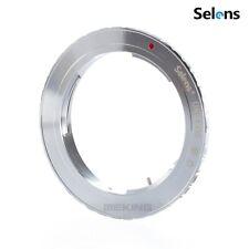 Selens OM-EOS Olympus OM Lens Adapter Ring to Canon EOS EF Mount DSLR Camera