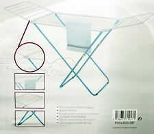 INDOOR OUTDOOR CLOTHES DRYING RACK FOLDABLE CLOTHES LAUNDRY AIRER 18M 18 METER B