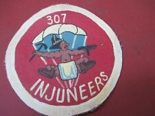 WWII US ARMY 307 TH PARACHUTE ENGINEER BATTALION FLIGHT JACKET PATCH
