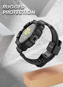 SUPCASE Wristwatch Band for Samsung Galaxy Watch Active 2 Band Strap Rugged Case