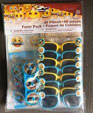 Emoji Favor Pack 48 Piece