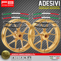 Adesivi Stickers Kit MARCHESINI FORGED ALLUMINIUM RACING WHEELS DUCATI APRILIA