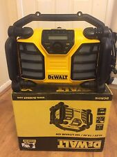 Dewalt DCR016 XR Li-ion Site Radio 240 Volt & Uses 10.8/14.4/18 Volt Batteries