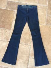 Madewell Dark Wash Vintage Rocker Flared Leg Mid Rise SOFT Jeans Sz 27