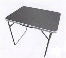 Folding table portable caravan traveling camp camping 80 X 60 x 69 ACC532