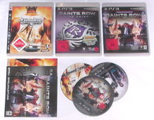 Jeux: SAINTS ROW 2 + 3 + 4 pour la Playstation 3/ps3 usk18