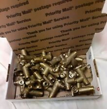 Scrap Brass 4 lbs. Clean and ready to melt. With flat rate box weighs 4.4 lbs.