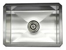 """ARIEL ARL-F1520 15"""" x 20"""" Stainless Steel 16Ga. Undermount Kitchen Bar Prep Sink"""