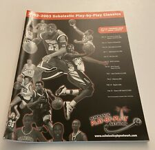 02-03 HS Basketball Tournament Program LEBRON JAMES Kobe Cover First On Ebay!
