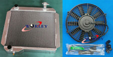 Radiator + Fan For Toyota Land Cruiser BJ42;BJ43;BJ44;BJ45;BJ46 3B 3.4L Diesel