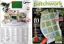 Patchwork popular revista 2013 Sept-caseta de jardín ordenado, Star dentro de una estrella