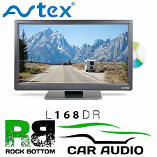 "Avtex L168DR 16"" Caravan MotorHome Truck 12V/24V/240 DC HD TV DVD USB & Freeview"