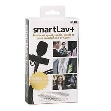 RODE smartLav+ - Plus Lavalier Clip-On Mic for Smartphone iPhone Android App