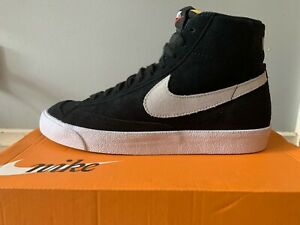 Men's Nike Blazer Mid 77 Suede US8 (Black/Photon Dust) Brand New