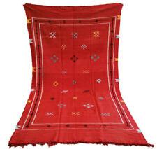 "Handmade Kilim Rug 7'6"" x 4'1"" Moroccan kilim rug Beni Ourain vintage rug shag"