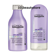 L'Oréal Professionnel Liss Unlimited Shampoo and Conditioner Duo 8.45oz / 5oz