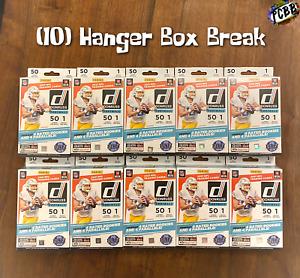 SEATTLE SEAHAWKS - 2021 Panini Donruss Football 10 Hanger Box Card Live Break #2