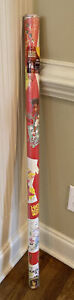 Disney High School Musical Christmas Holiday Gift Paper Wrap 60 Sq Ft NWT