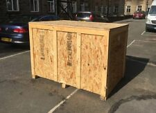 Wooden Weather-Resistant Shipping & Moving Boxes