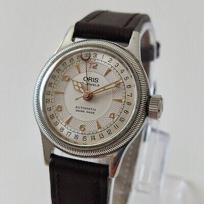 Watch big crown Oris automatic 17 jewels 7400C , calibre 584 , swiss made