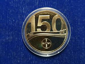 🌟Bayer Company Employee 150 Anniversary 14K Gold Bullion Proof Medal RARE!