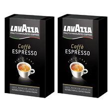 2 x LAVAZZA 250g Packung Kaffee gemahlen Caffè Espresso 100%25 ARABICA