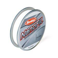 Berkley Nanofil 6lb 150yd Clear Mist Filler Braided Line Spool 6-150 yd New