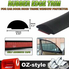 EPDM Foamed Solid Rubber Seal Trim Strip Cars Auto Hood Trunk Edge Protector 5M