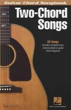 Two-Chord Songs Guitar Chord Songbook Very Easy Music Book for Beginners