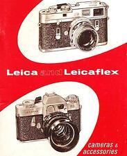 1967 LEICA CAMERA CATALOG BROCHURE -M4-M3-M2-LEICAFLEX-LEICA