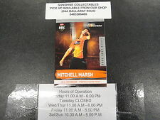2016/17 CRICKET TAP N PLAY SILVER GAME CARD NO.158 MICHELL MARSH