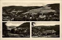 PROBSTZELLA Thüringen Fotoabzug-AK 3 Ansichten Mehrbild DDR Postkarte um 1955