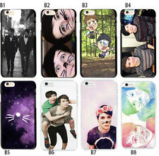 Dan Howell And Phil Lester Soft TPU Case Cover For iPhone 6S 7 8 Plus S9 Xr X Xs