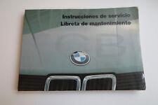 BMW e28 OWNERS handbook - ORIGINAL ESPAÑOL SPANISH 518 520 525 524TD 528i m535i