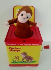 Schylling CURIOUS GEORGE Jack in the Box Works Great