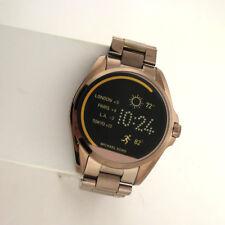 af3a117da Michael Kors Access Touchscreen MKT5007 Bradshaw Smartwatch Brown Stainless  Watc
