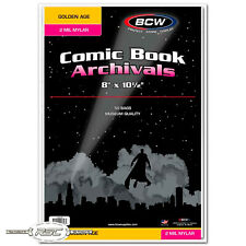50 - Archivals Golden Age 2-Mil Mylar Polyester Film Comic Book Bags by BCW